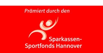 prämiert durch den Sparkassen-Sportfond Hannover
